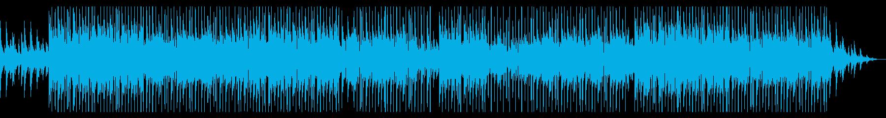 ジャジーでお洒落なピアノのHIPHOPの再生済みの波形