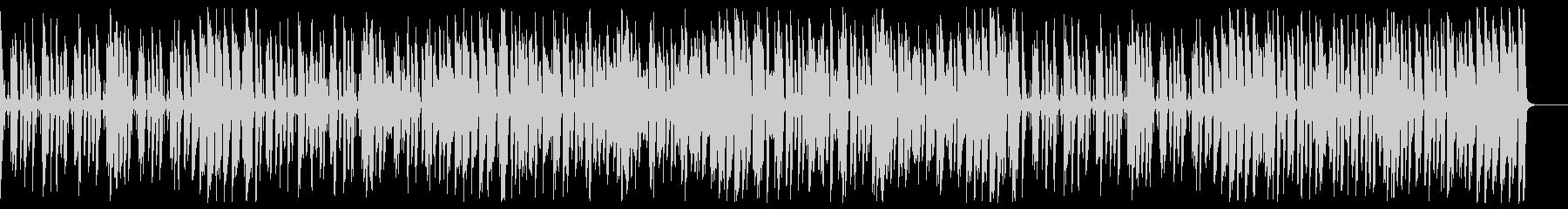ウキウキハッピーなジャズコーラスBGMの未再生の波形