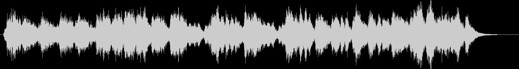 30秒の開会のファンファーレの未再生の波形
