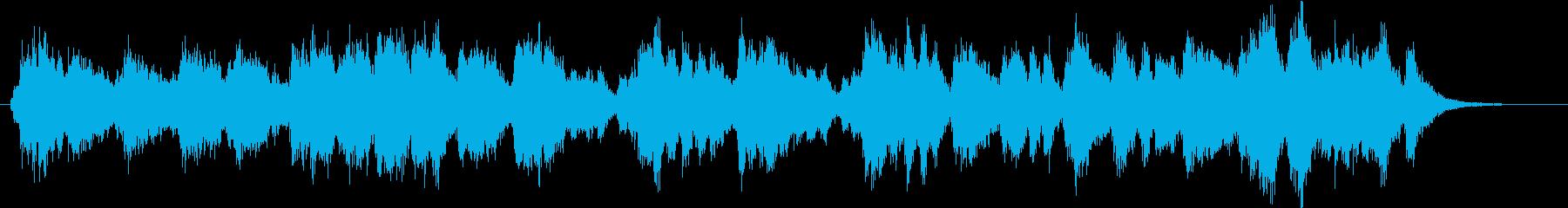 30秒の開会のファンファーレの再生済みの波形