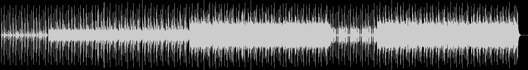 シリアスなシンセサイザーなどのサウンドの未再生の波形