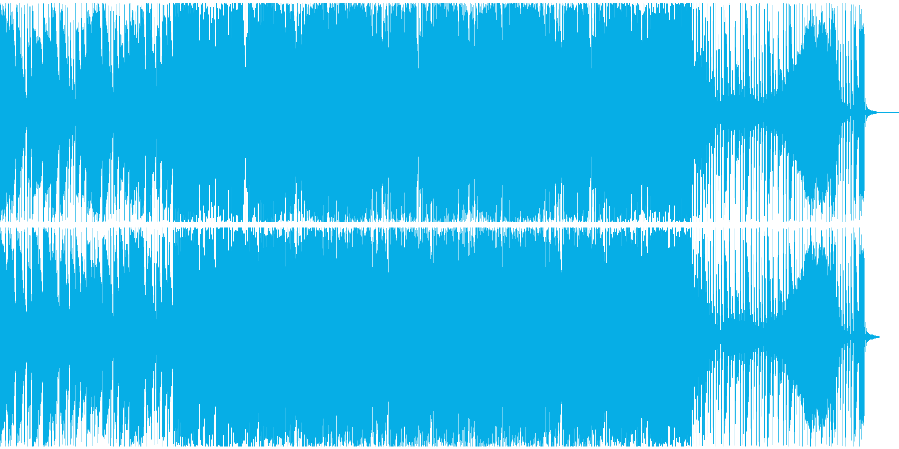 【フューチャーベース】ロング5の再生済みの波形