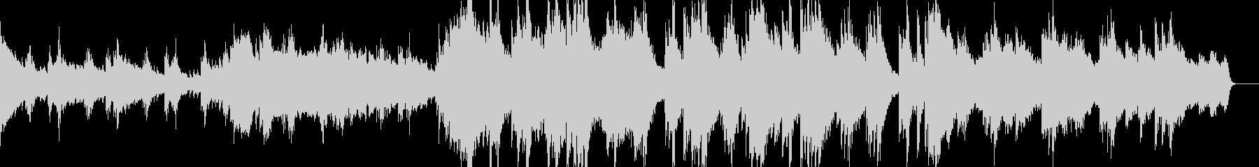 物悲しげなピアノのシネマティックの未再生の波形