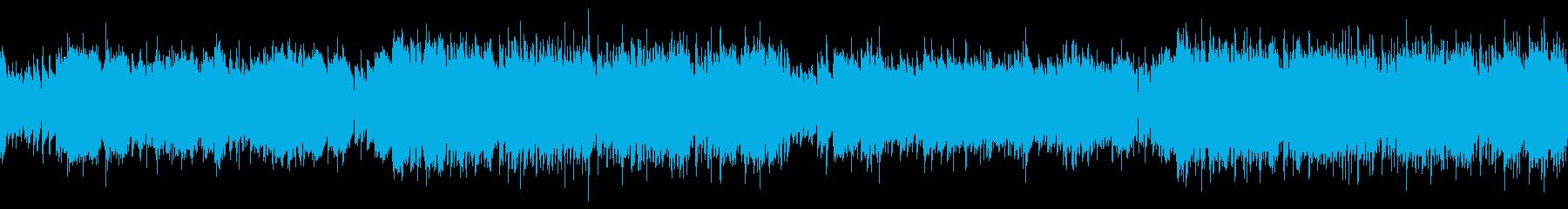 ループ・情熱的でかっこいいフラメンコの再生済みの波形