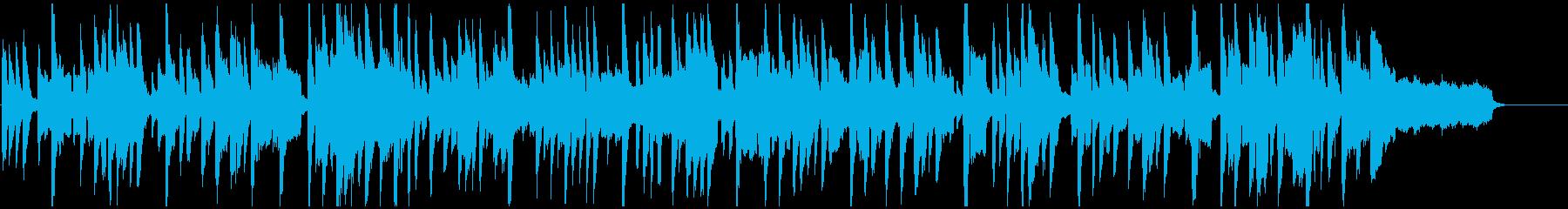 昭和アニメ的ほのぼの日常シーン、コメディの再生済みの波形