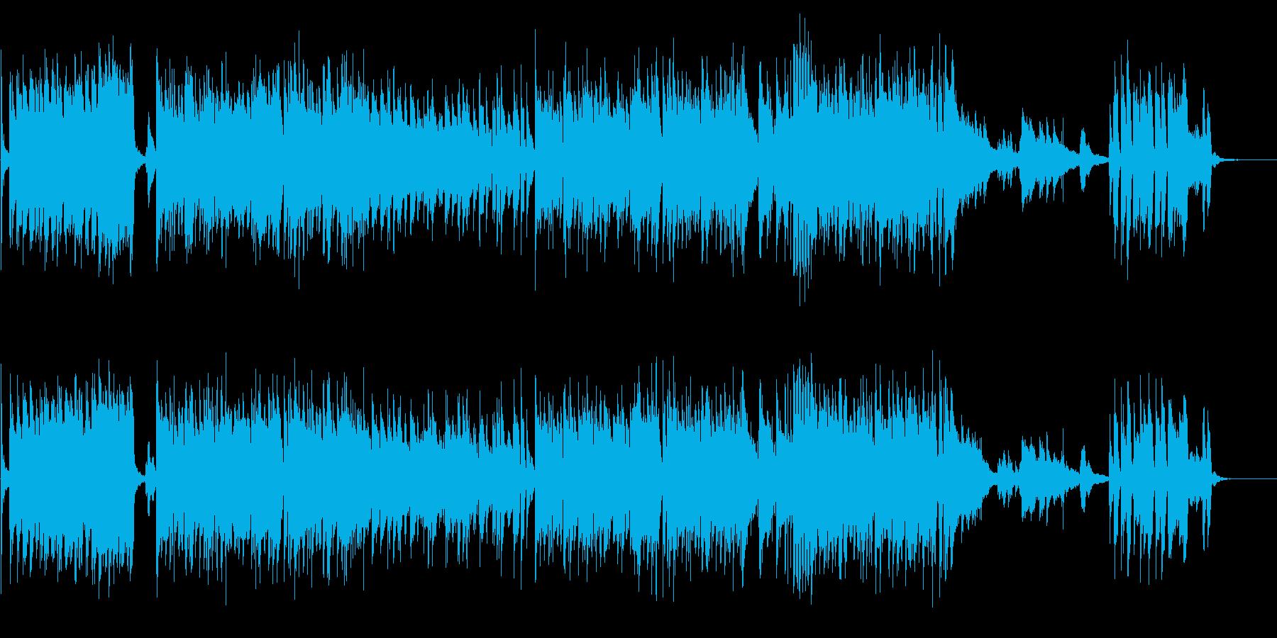 オシャレでかっこいいジャズピアノ-短縮版の再生済みの波形