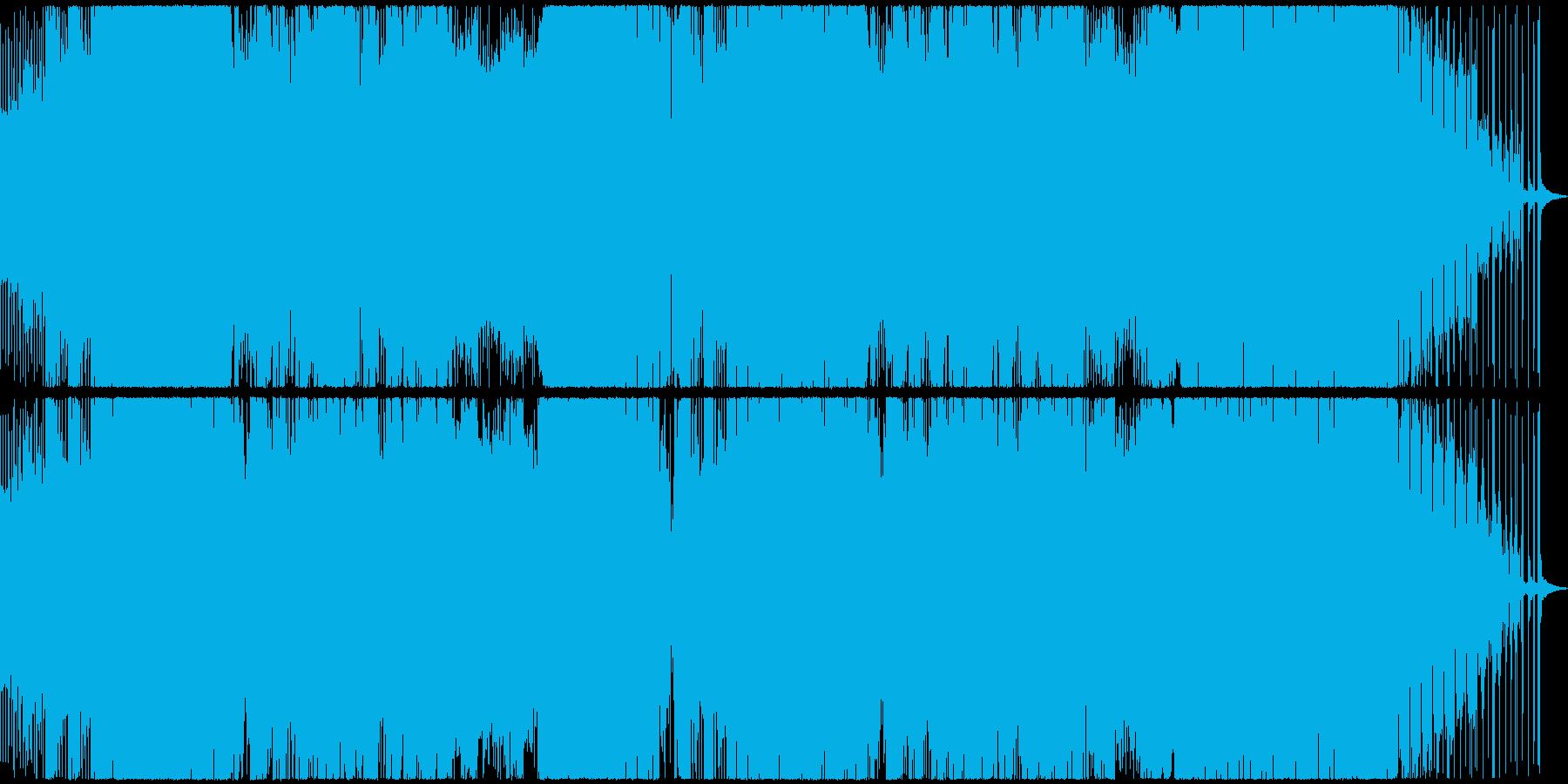 パワフルかつ幻想的なEDMの再生済みの波形