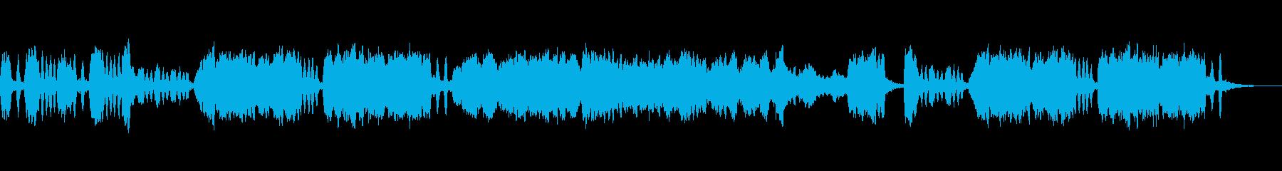 妖しい雰囲気の弦楽四重奏の再生済みの波形