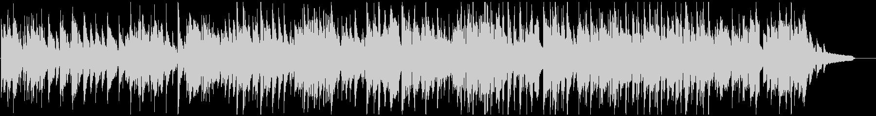 優しいジャズワルツ、暖かいサックスの音色の未再生の波形