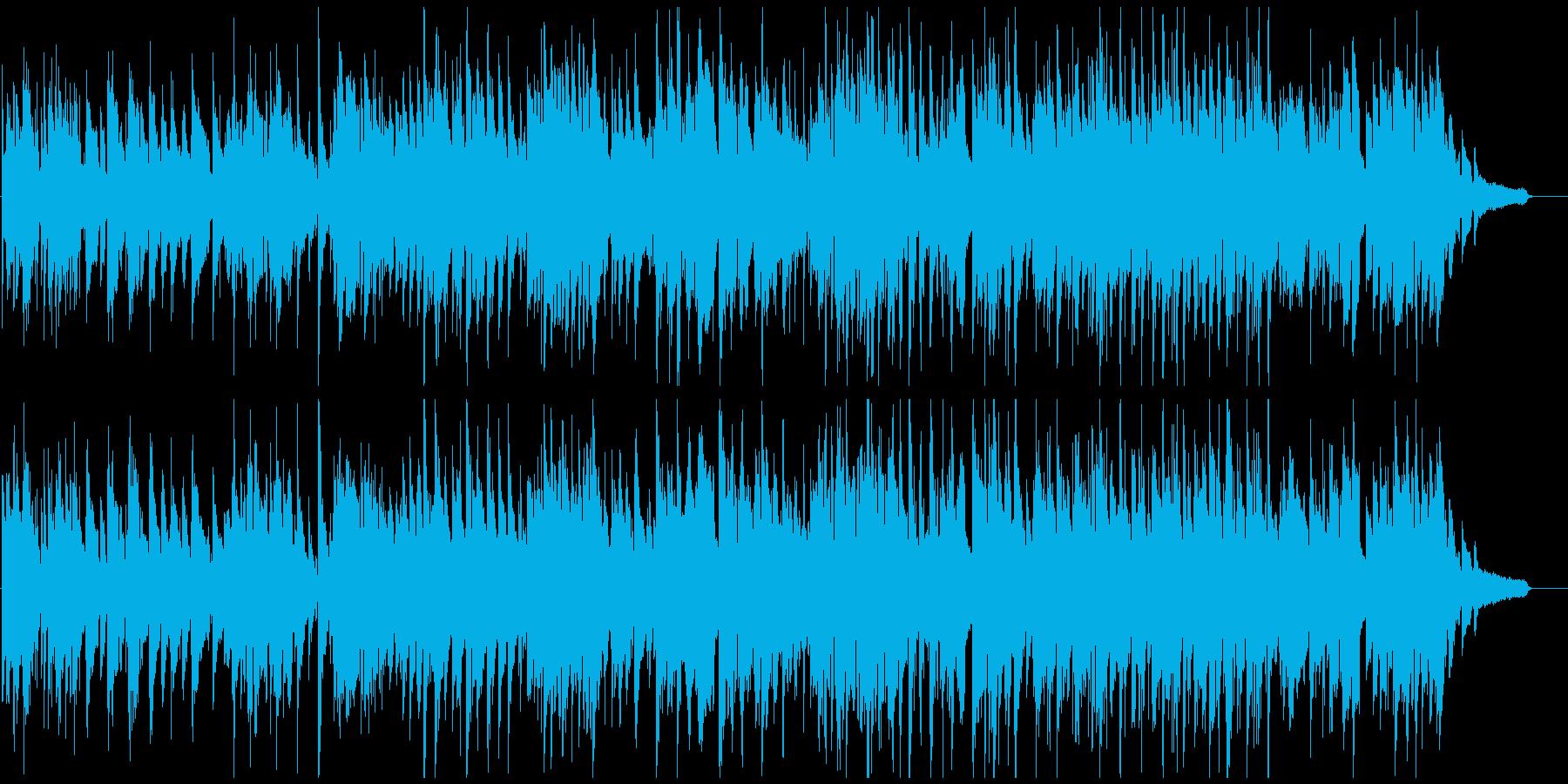 優しいジャズワルツ、暖かいサックスの音色の再生済みの波形