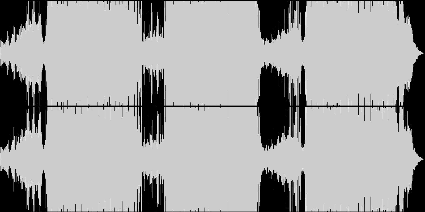 ゆったりトロピカル系EDMの未再生の波形