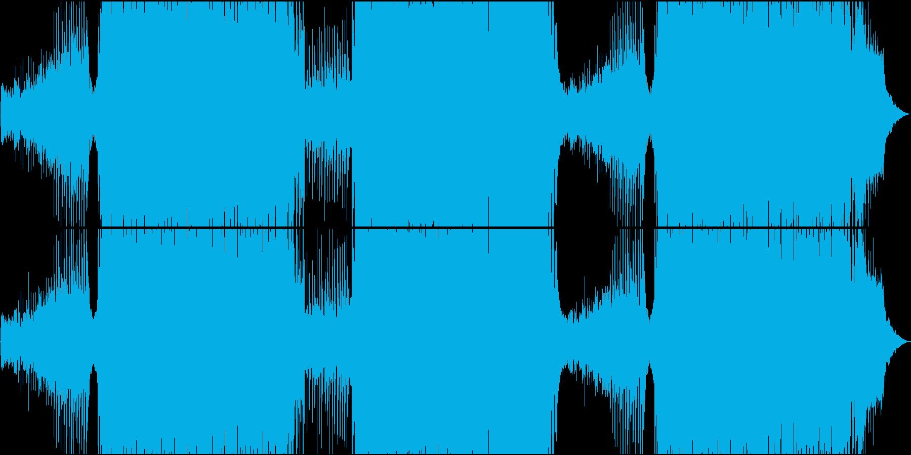 ゆったりトロピカル系EDMの再生済みの波形