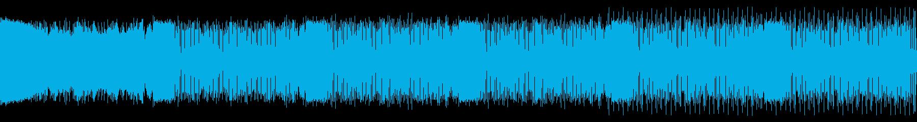 ループ仕様・疾走感あるアンビエントDnBの再生済みの波形