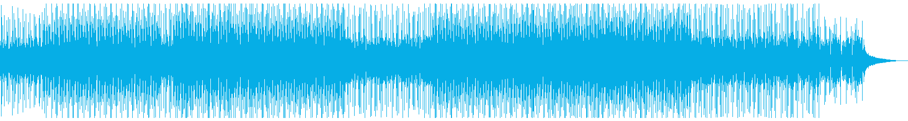 トロピカルハウス・夏・リゾート・バカンスの再生済みの波形