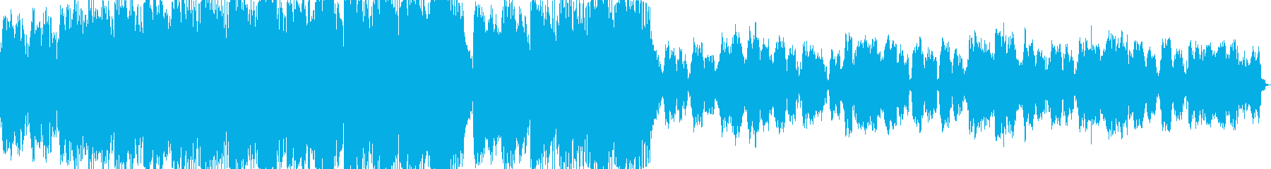 暗くて未来的なオーケストラサウンドの再生済みの波形