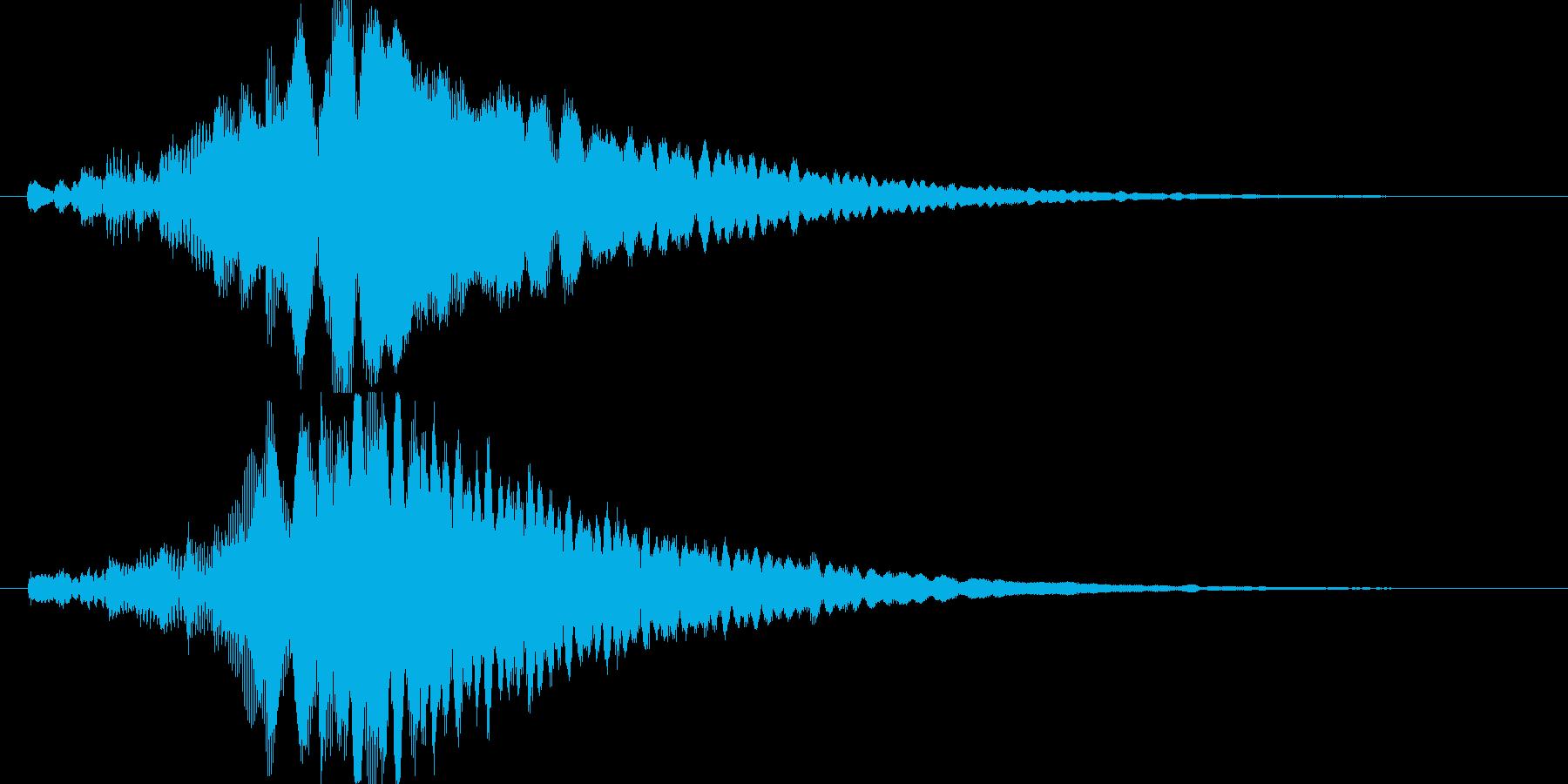 シンプルでキレイめなアイキャッチ2の再生済みの波形