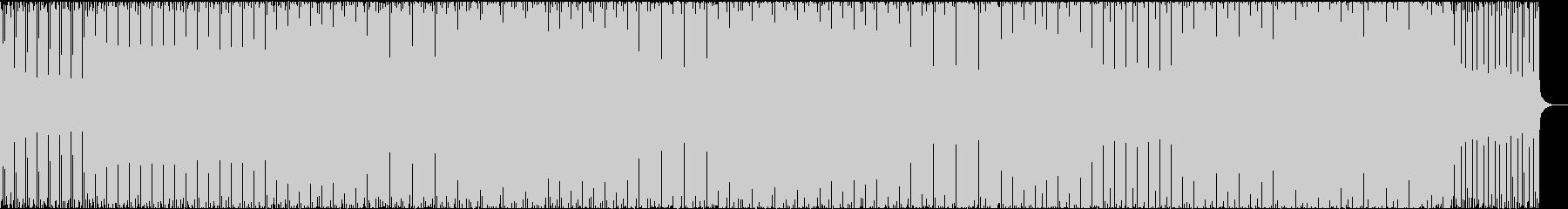 コミカル、4つ打ち、トラップ、疾走感の未再生の波形