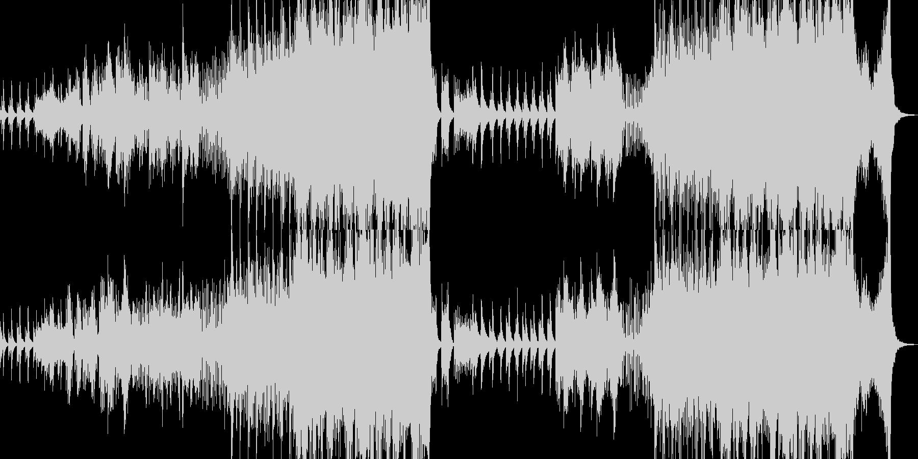 出会いと別れ・クラシカルアレンジ 長尺の未再生の波形