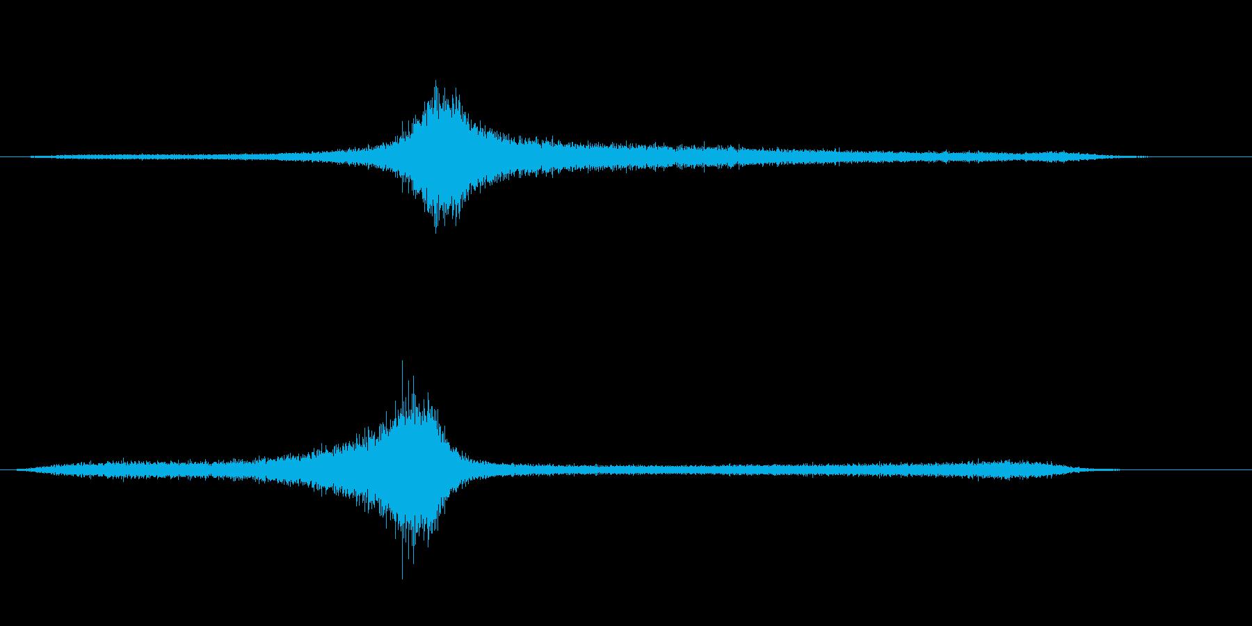 【生録音】 早朝の街 交通 環境音 10の再生済みの波形