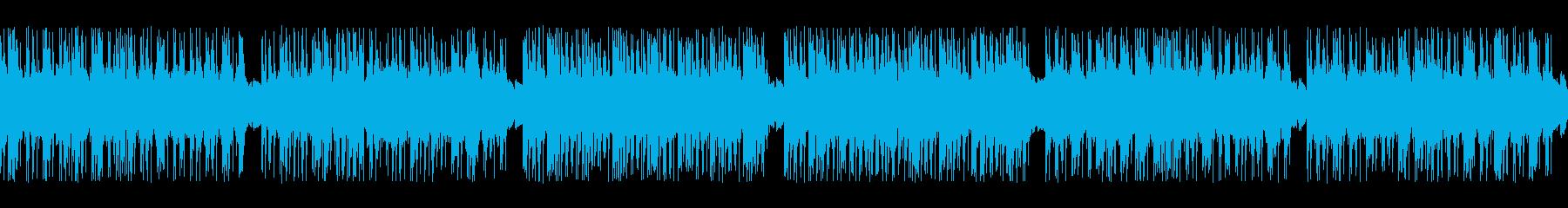 ゲーム映画バトル用攻撃的4-1ループ処理の再生済みの波形