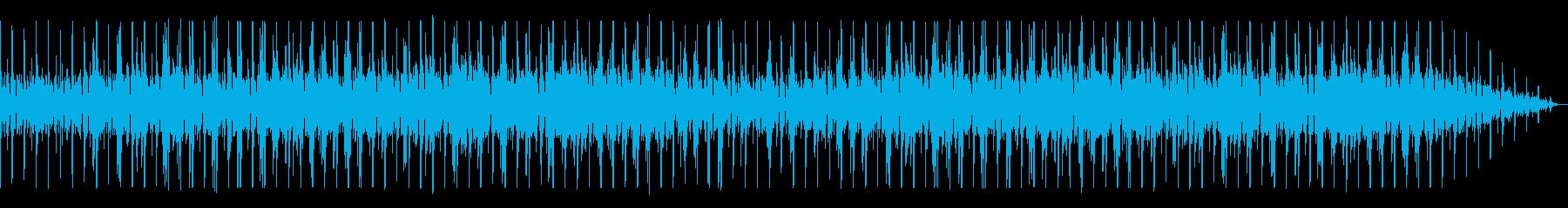 シンプルなボサノヴァ曲の再生済みの波形