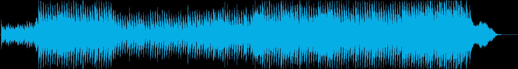 爽やかなベルとオーケストラBGM仕様の再生済みの波形