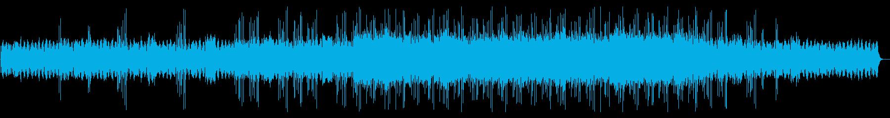 ヒーリング・ミュージックの再生済みの波形