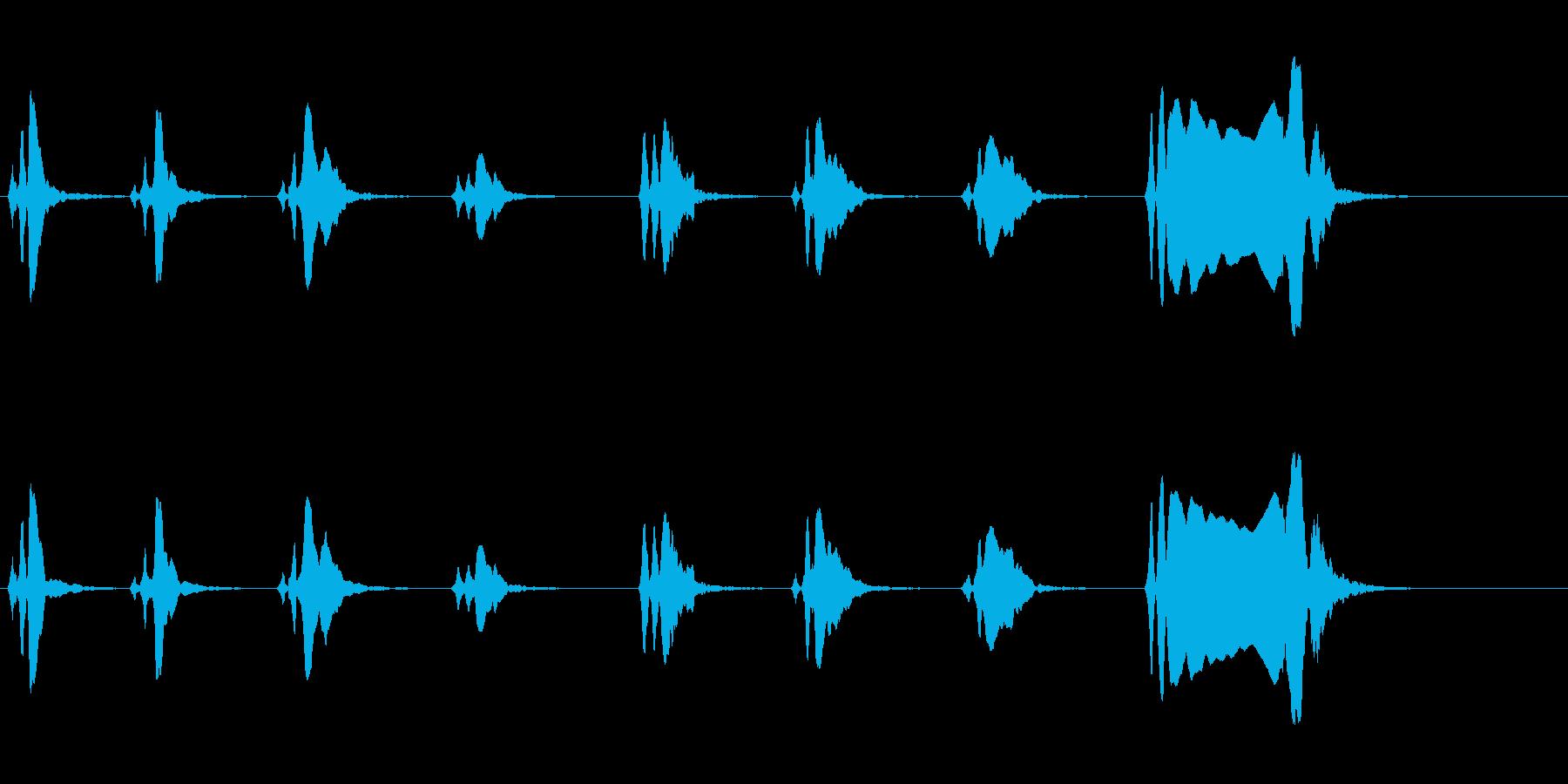 尺八 生演奏 古典風 残響音有 8の再生済みの波形