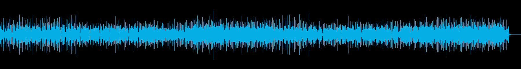クリーンなエレキギターでゆったりPOPSの再生済みの波形