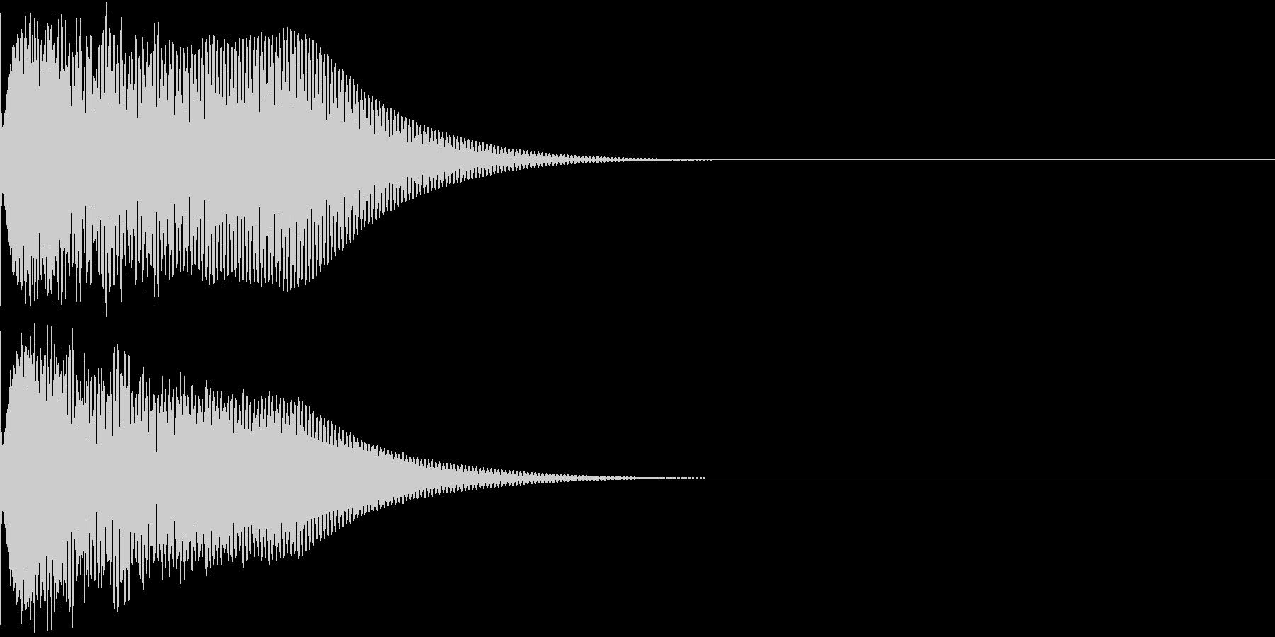 光る キュイーン ピカーン キラン 09の未再生の波形