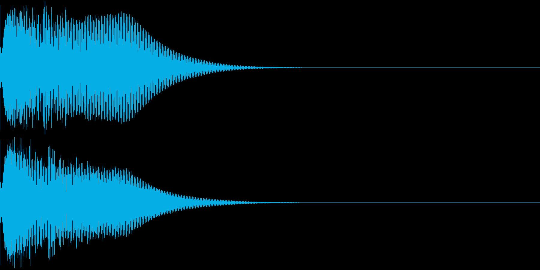 光る キュイーン ピカーン キラン 09の再生済みの波形