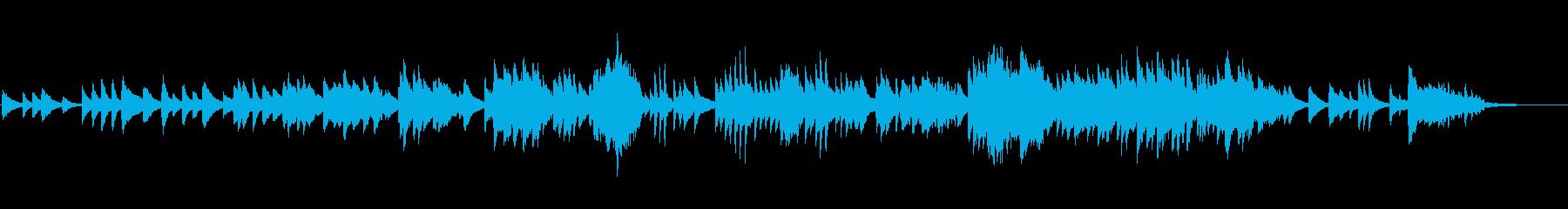 篠笛の優しい音色に望郷の故郷を思わせる曲の再生済みの波形