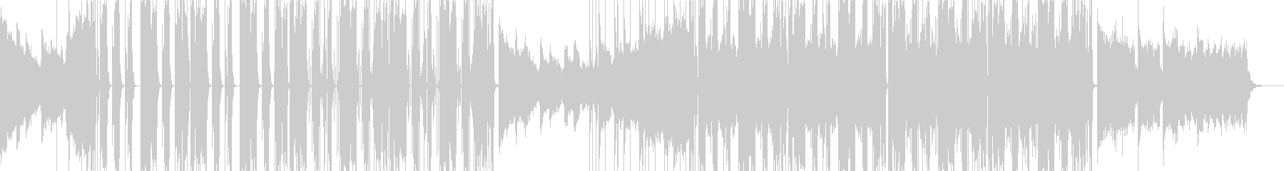 Futubass01V1の未再生の波形