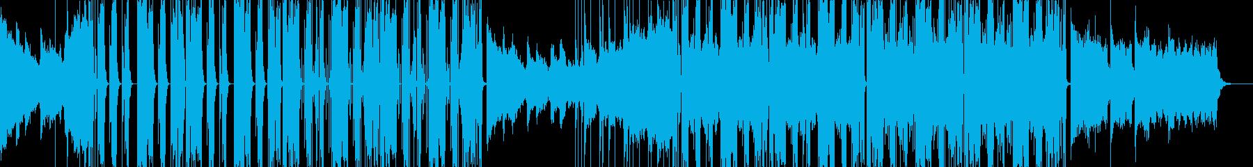 Futubass01V1の再生済みの波形