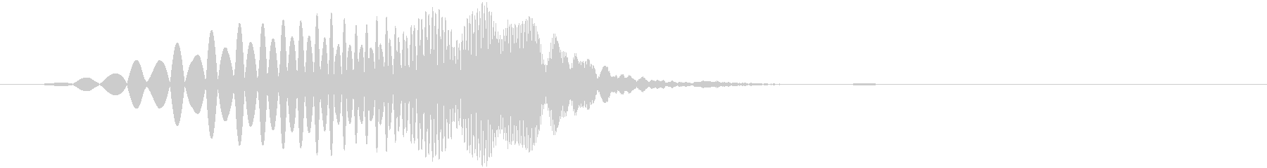 プイ(回復魔法・アイテム・入手・上昇音)の未再生の波形