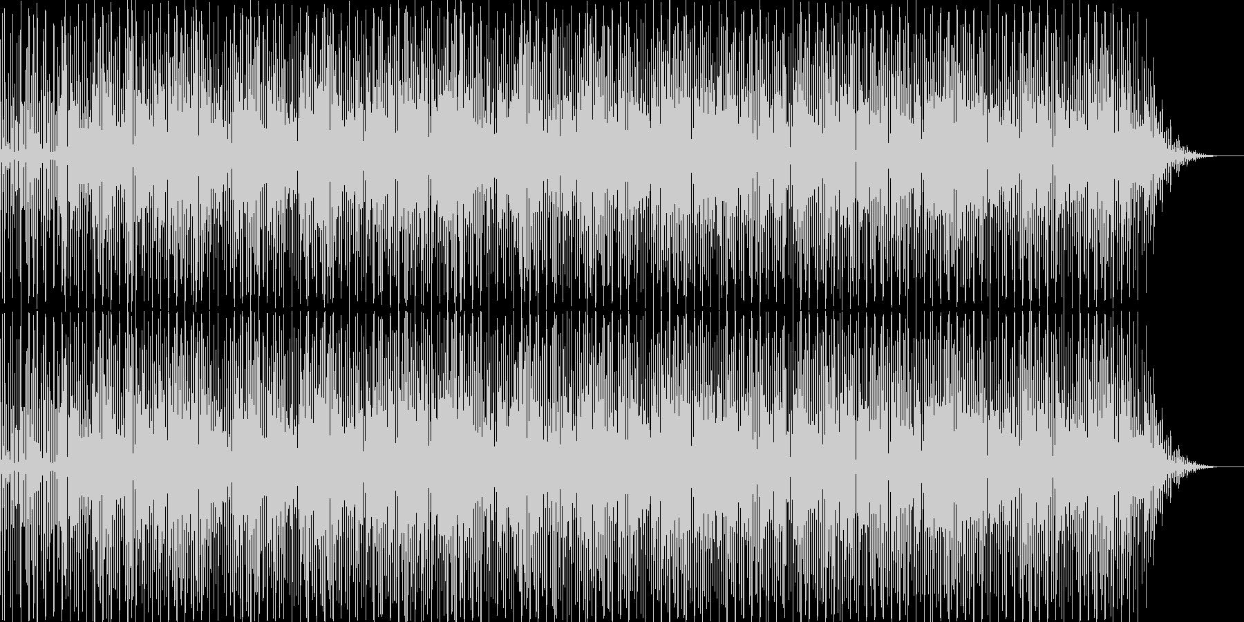 ヒップホップジャズの未再生の波形