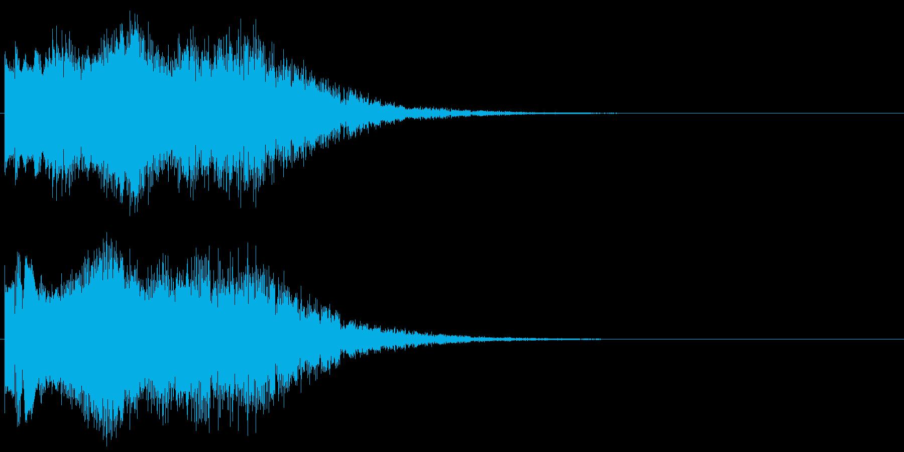 魔法音10の再生済みの波形
