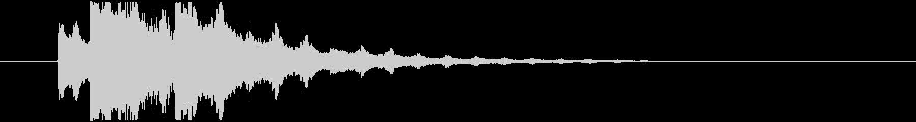 不気味なアルペジオ 7の未再生の波形