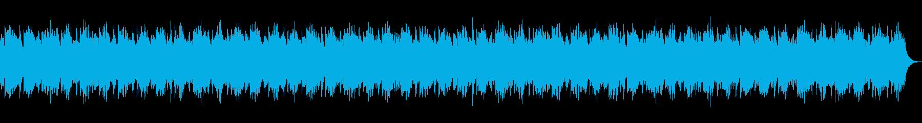 シネマティックホラーの再生済みの波形