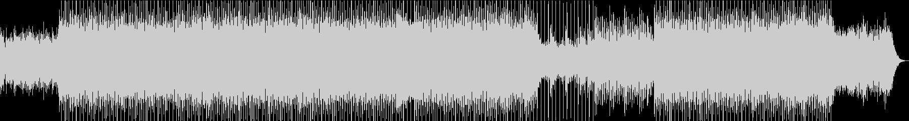 クリーンなイメージのコーポレートの未再生の波形