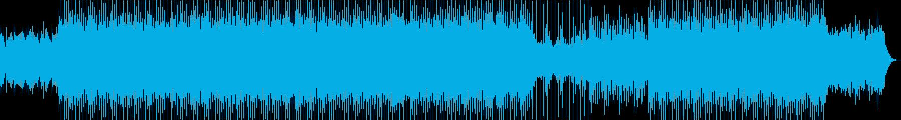 クリーンなイメージのコーポレートの再生済みの波形