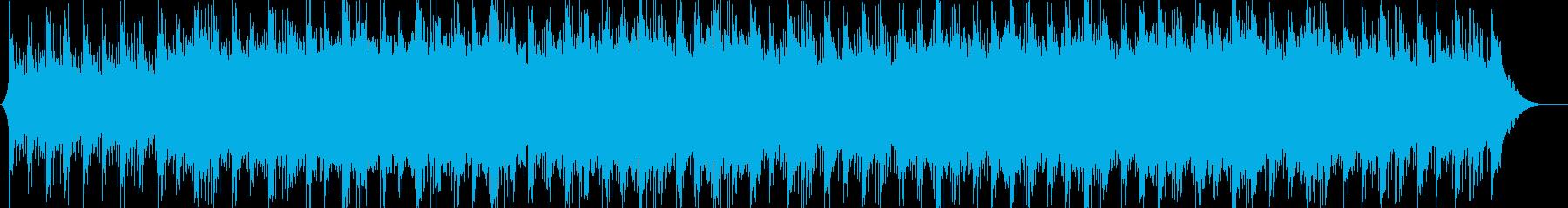 爽やか、企業VP、疾走感【リズム抜き】の再生済みの波形
