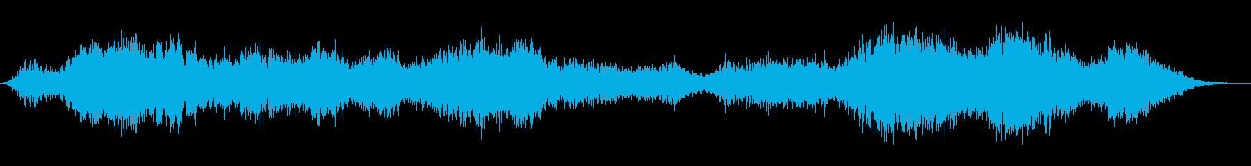 霊的な質量の再生済みの波形