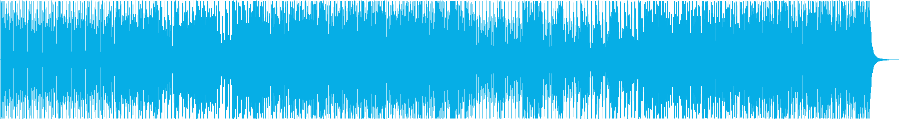ヴァイオリンによるドキュメンタリー番組風の再生済みの波形
