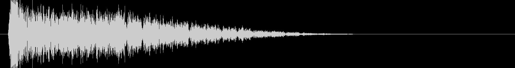 ブゥワブゥワブゥワ(衝撃波)の未再生の波形