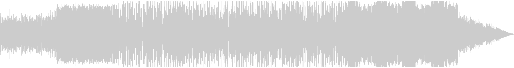 鉄琴でリラックスな曲の未再生の波形