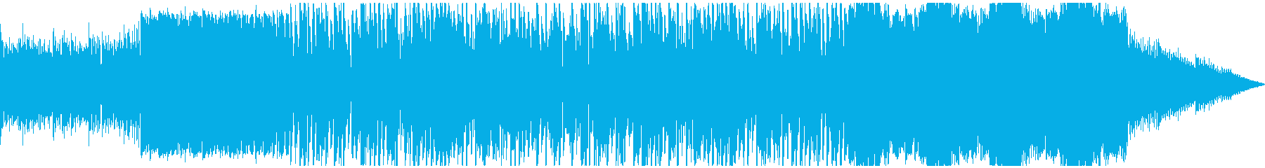 鉄琴でリラックスな曲の再生済みの波形