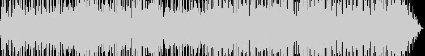 エレピが印象的なボサノバポップの未再生の波形