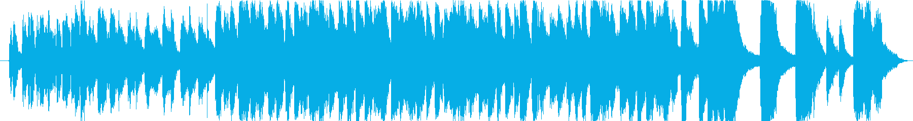モダンなビッグバンドジャズインスト...の再生済みの波形
