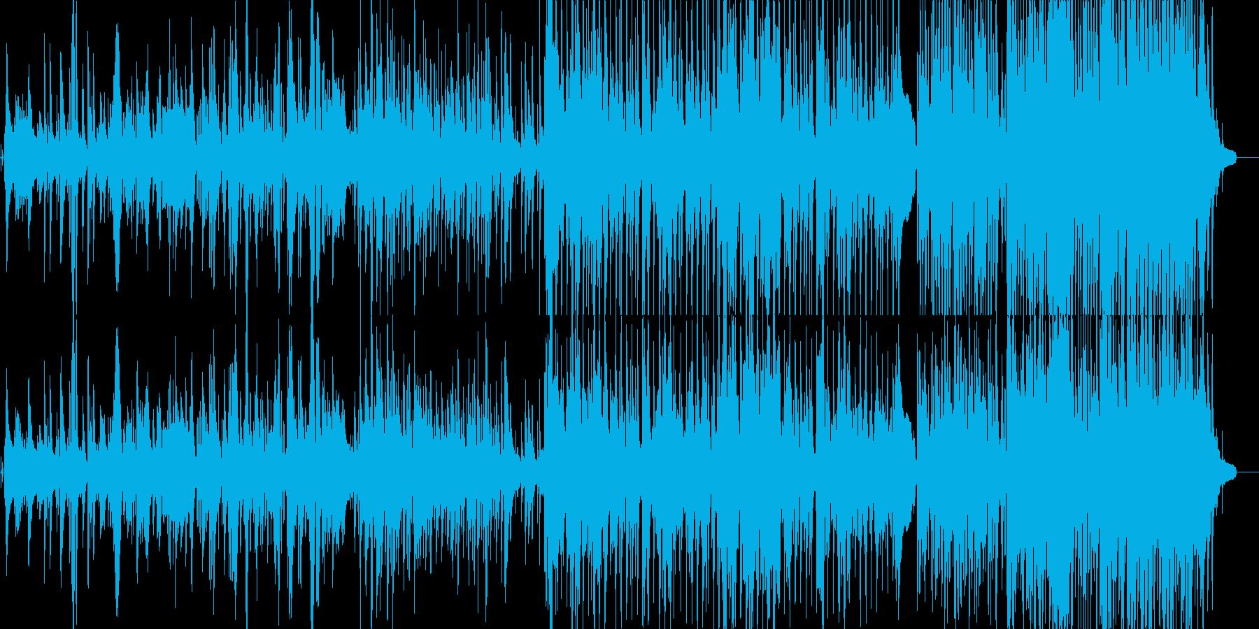 jazzyな女性ボーカル物の再生済みの波形